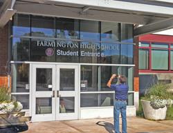 farmington highschool student entrance 3