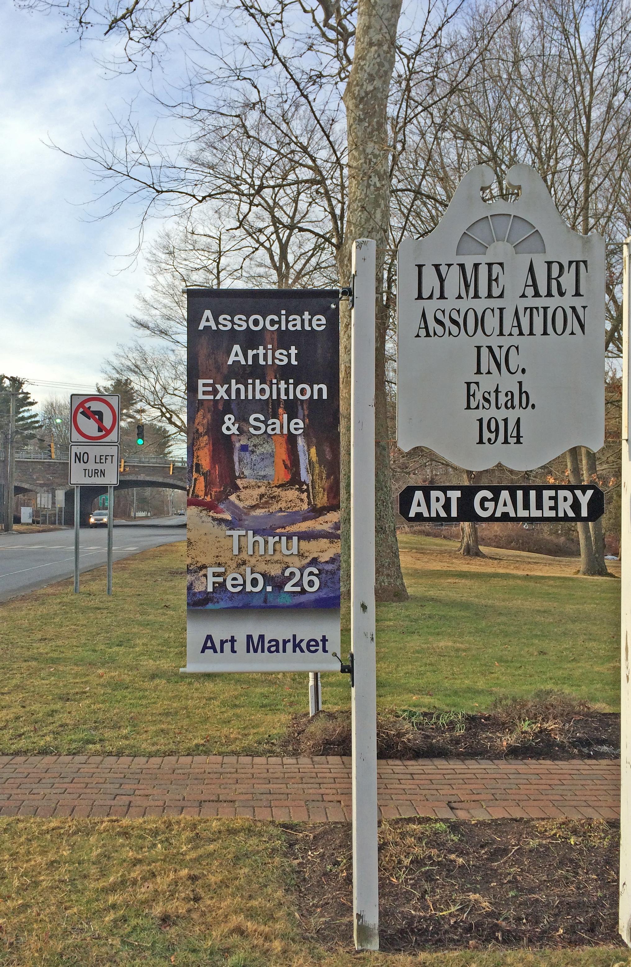 Lyme Art Association banner