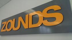 Zounds Interior Sign