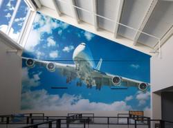 Lee Company wall mural