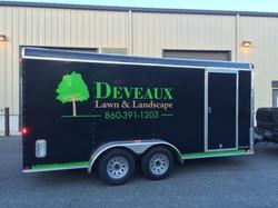 Deveaux Lawn & Landscape trailer