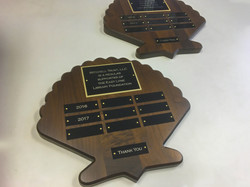 East Lyme Library plaques