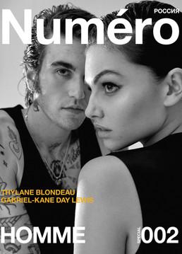 Gabriel Kane and Thylane Blondea by Ämr Ezzeldinn for Numero Magazine