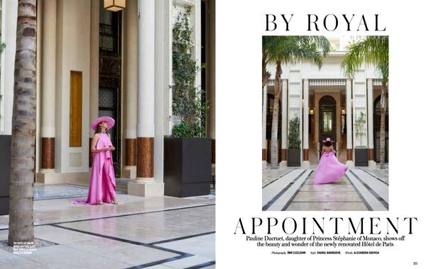 Pauline Ducaret Princess of Monaco by Ämr Ezzeldinn for Vogue Arabia