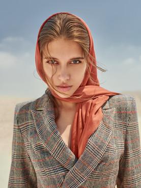 Victoria Perusheva for TIYI Campaign