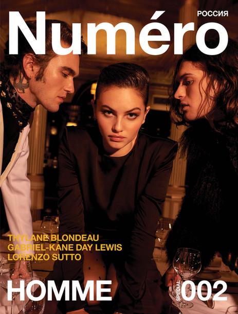 Gabriel Kane and Thylane Blondeau for Numero Magazine