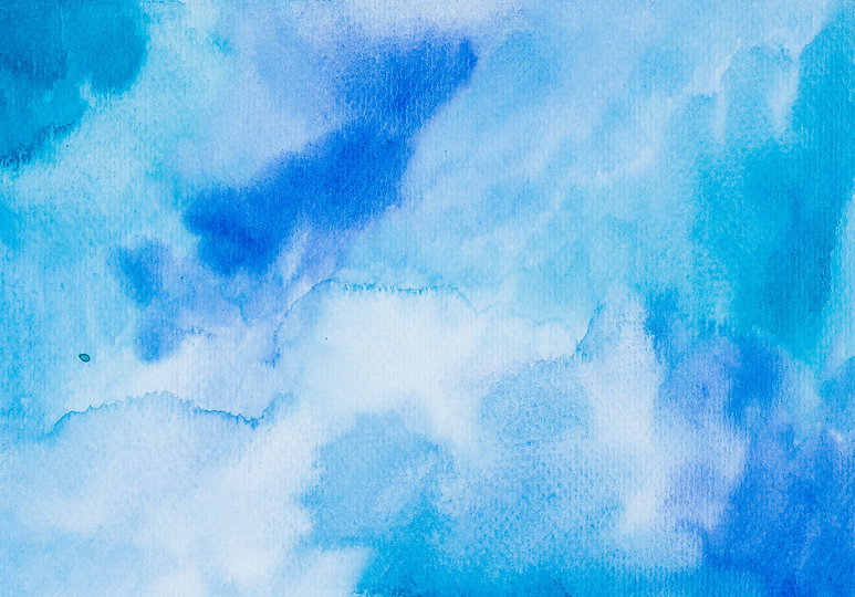 Abstract Space hand painted watercolor b