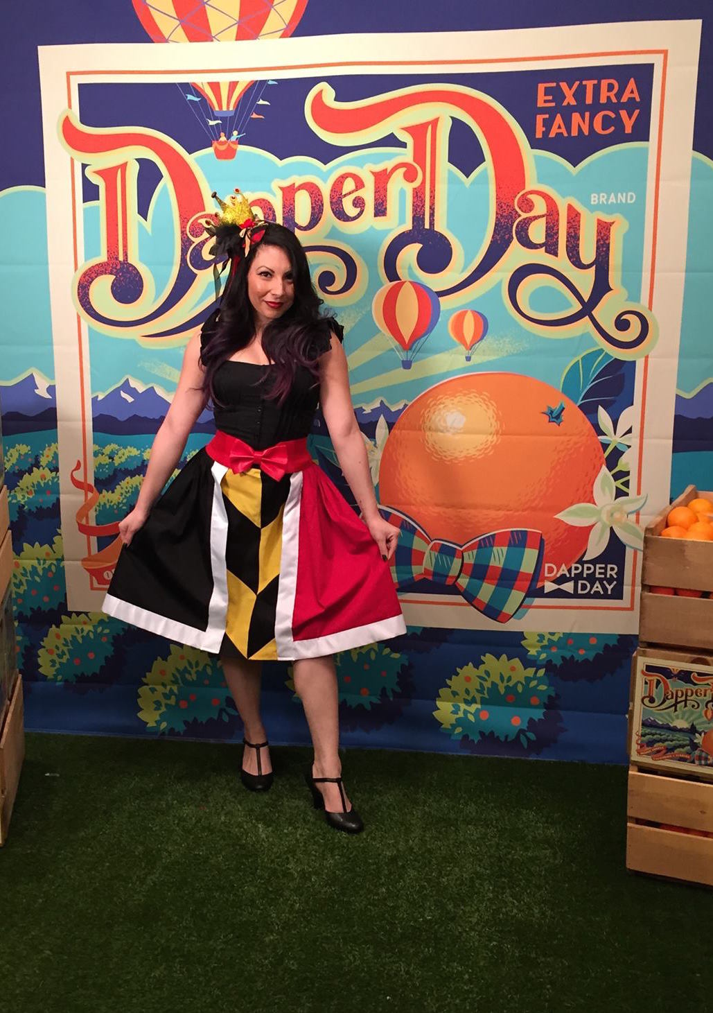 Dapper Day Queen of Hearts