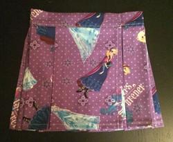 Toddler Pleated Mini-Frozen Purple