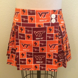 Pleated Mini-Virginia Tech