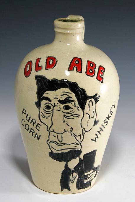 Old Abe Whiskey Jug