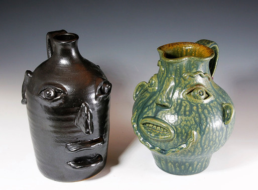 Face Jug and Pitcher