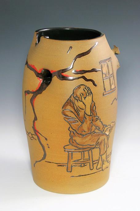 Incised Vase Depression