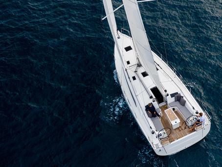 """Neu in unserer Flotte  - Beneteau Oceanis 40.1 - """"Naomi"""" - Baujahr 2021"""