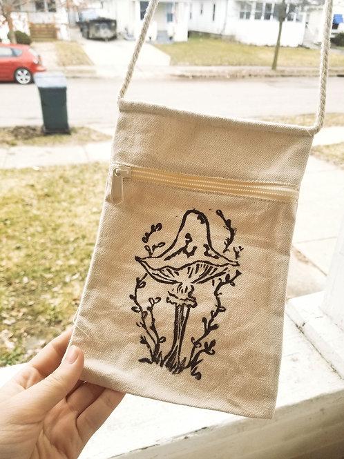 Mushroom purse