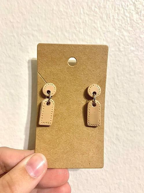 Light Brown Earrings