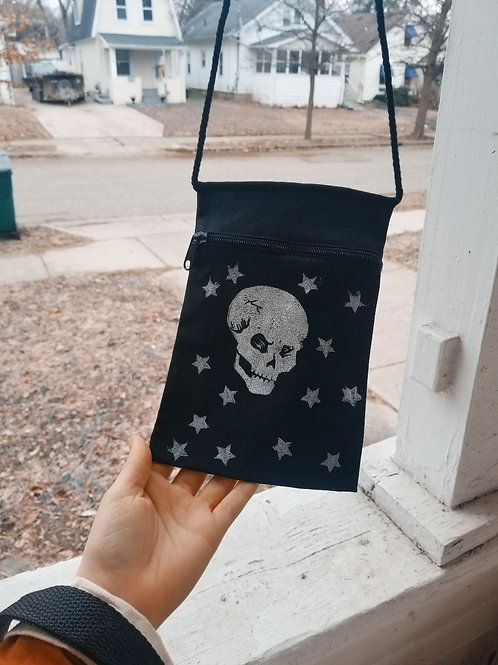 Skull and Stars purse