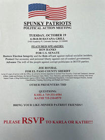 Spunky Patriots October 19, 2021