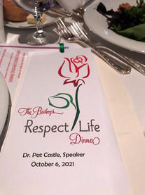 The Bishop's Respect Life Dinner