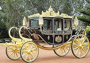 gold carriage Mareh Yechezkel Ezekiel Paneth, Chief Rabbi of Transylvania