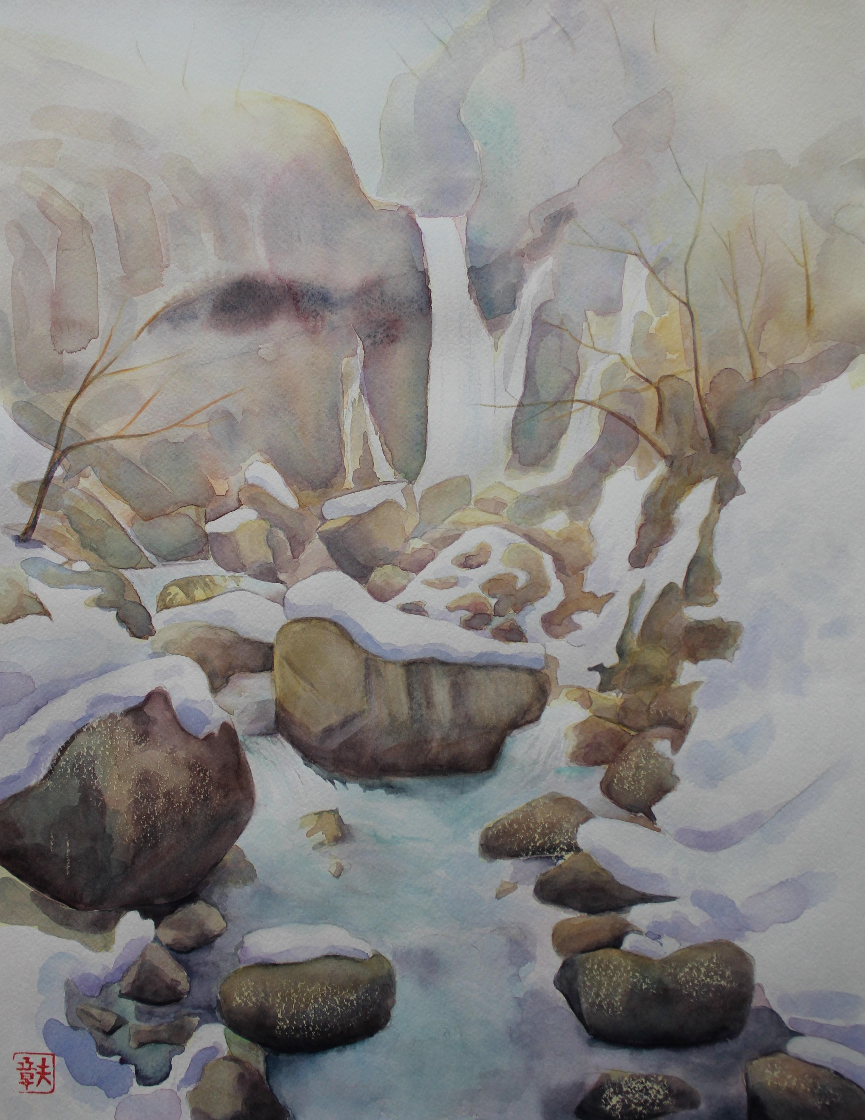 裏見の滝・早春