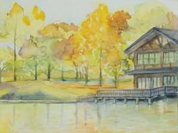 秋の井頭公園①