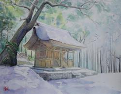 F6号 國指定重要文化財 雪中綱神社
