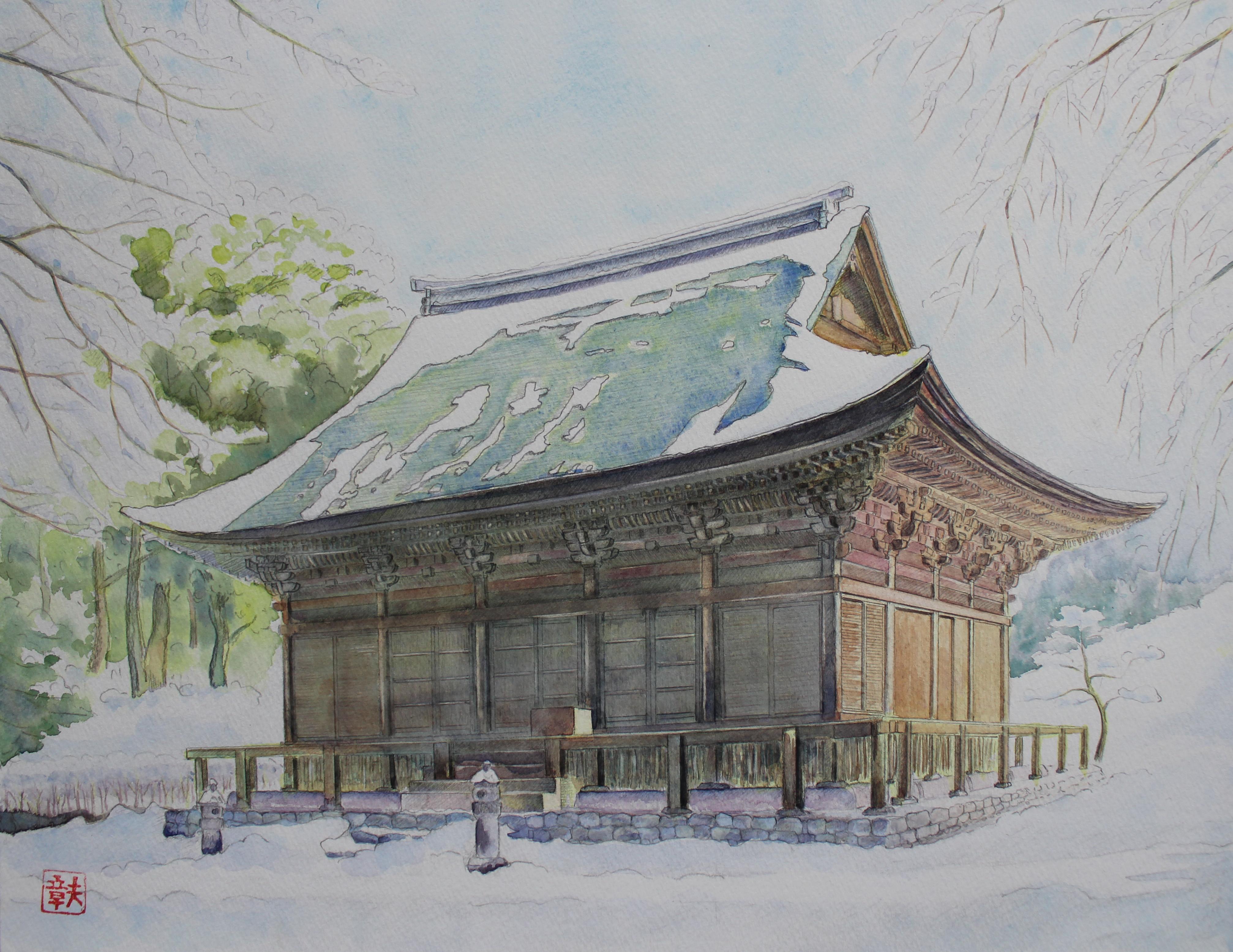 雪中地蔵院