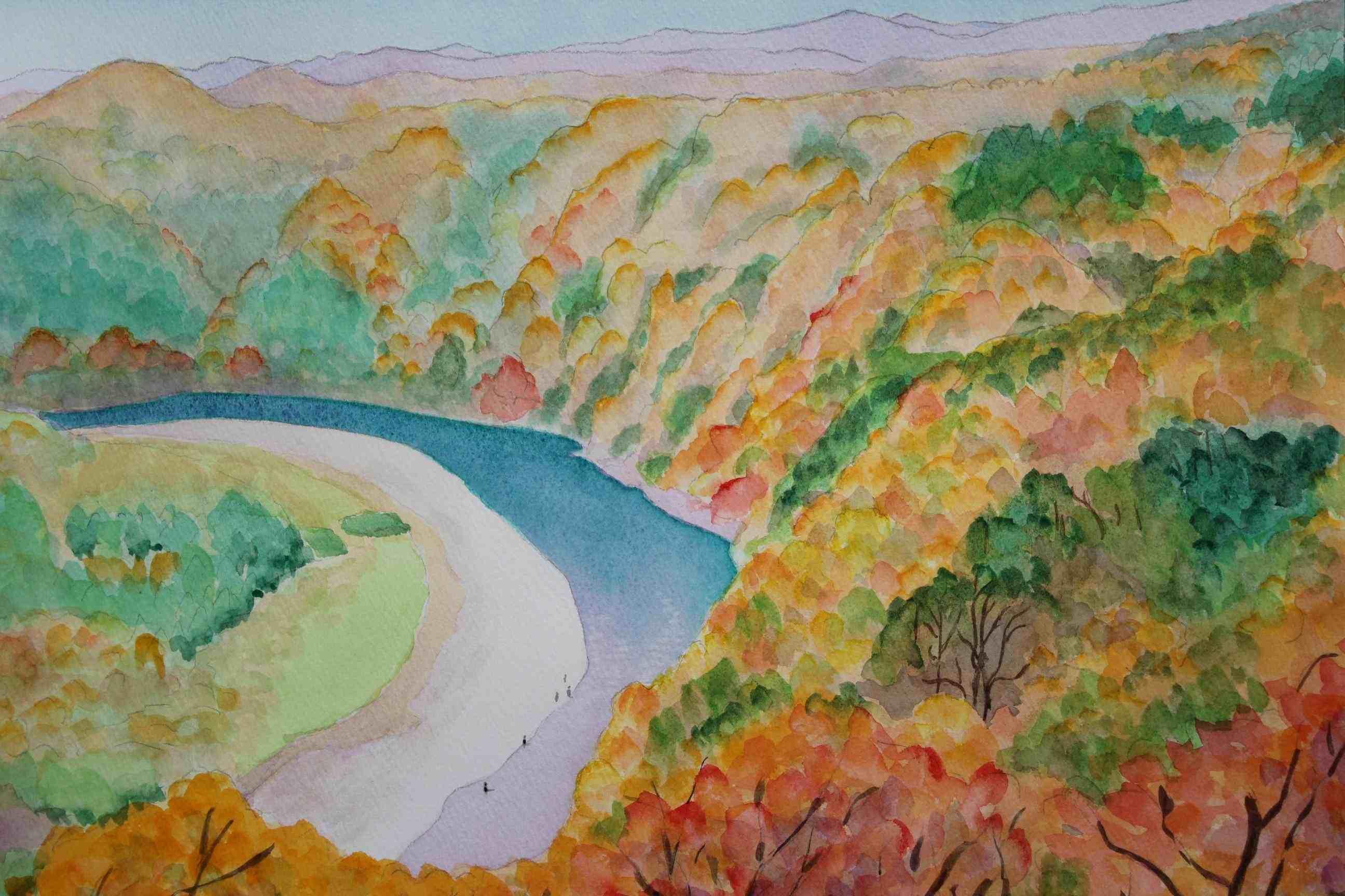 鎌倉山から望む