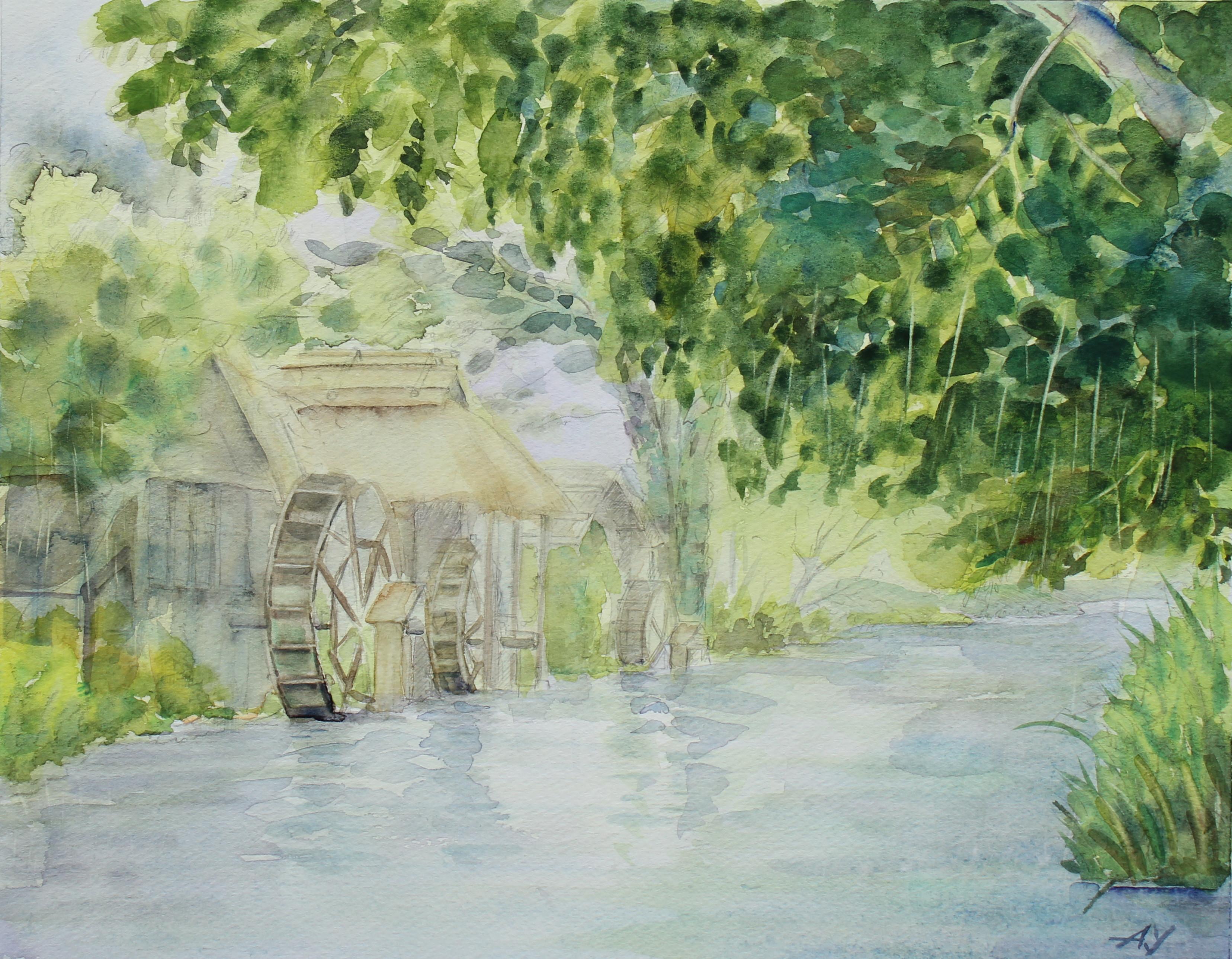水車小屋①