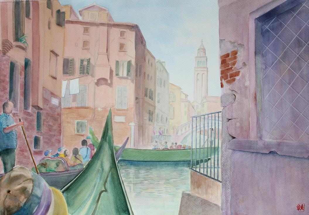 ベネチア水路Ⅱ