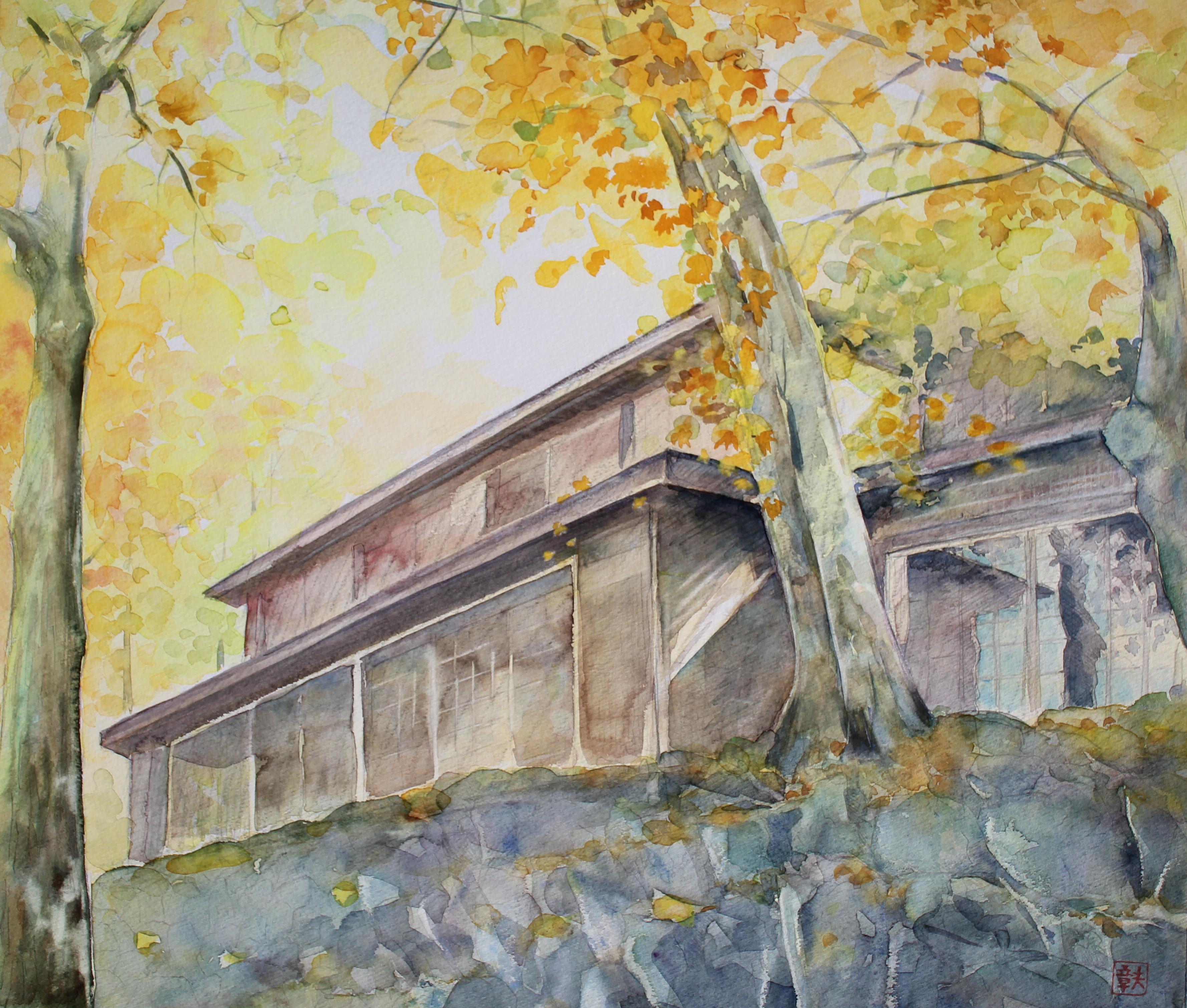 秋の山荘②