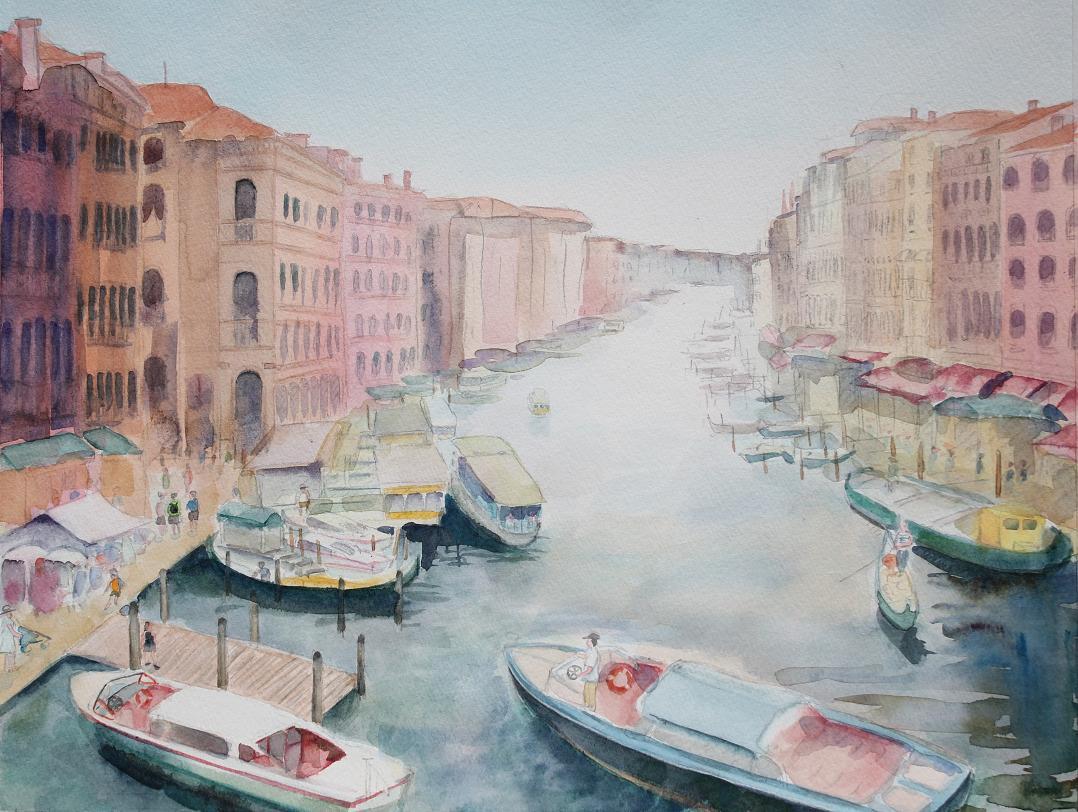 ベネチア水路Ⅰ