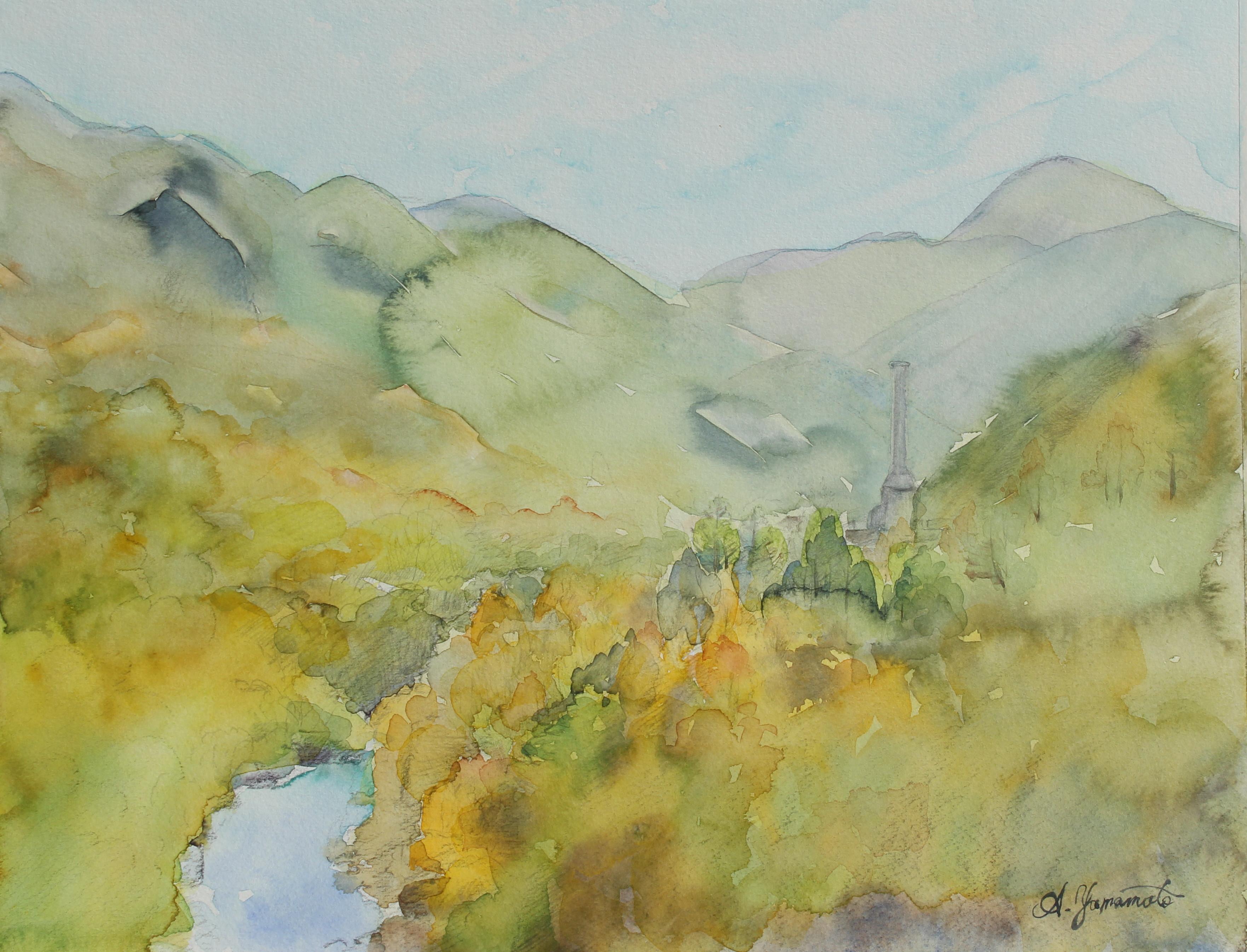 足尾銅山の秋②