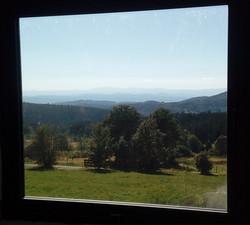 Vue sur les volcans d'Auvergne