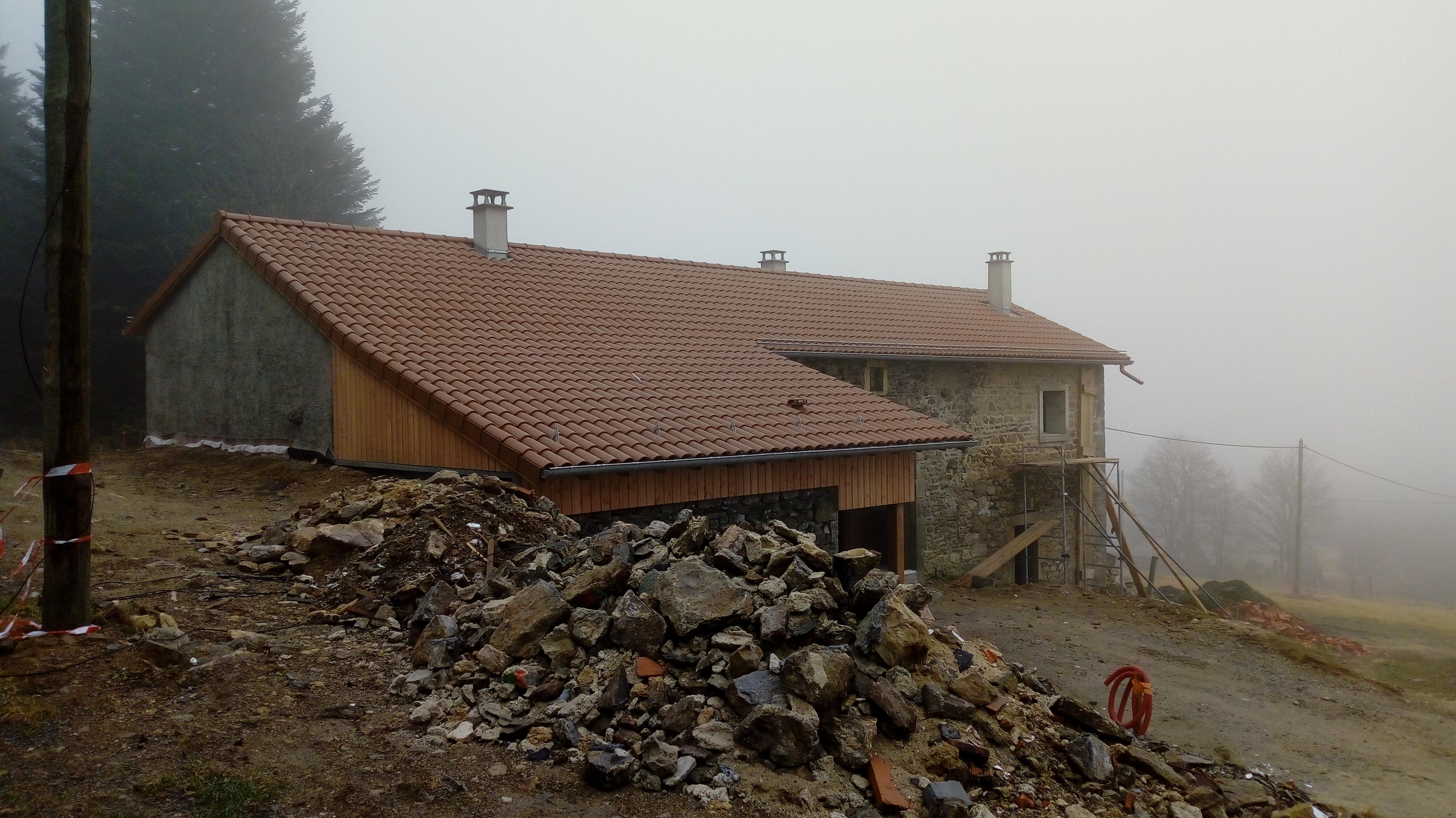 Un toit pour l'hiver
