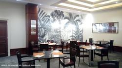 Réagencement d'un restaurant