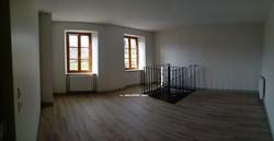 Trémie d'escalier à l'étage