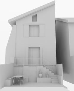 Vue 3D - Entrée côté cours