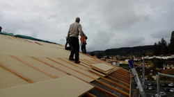 Isolation de toiture Sarking