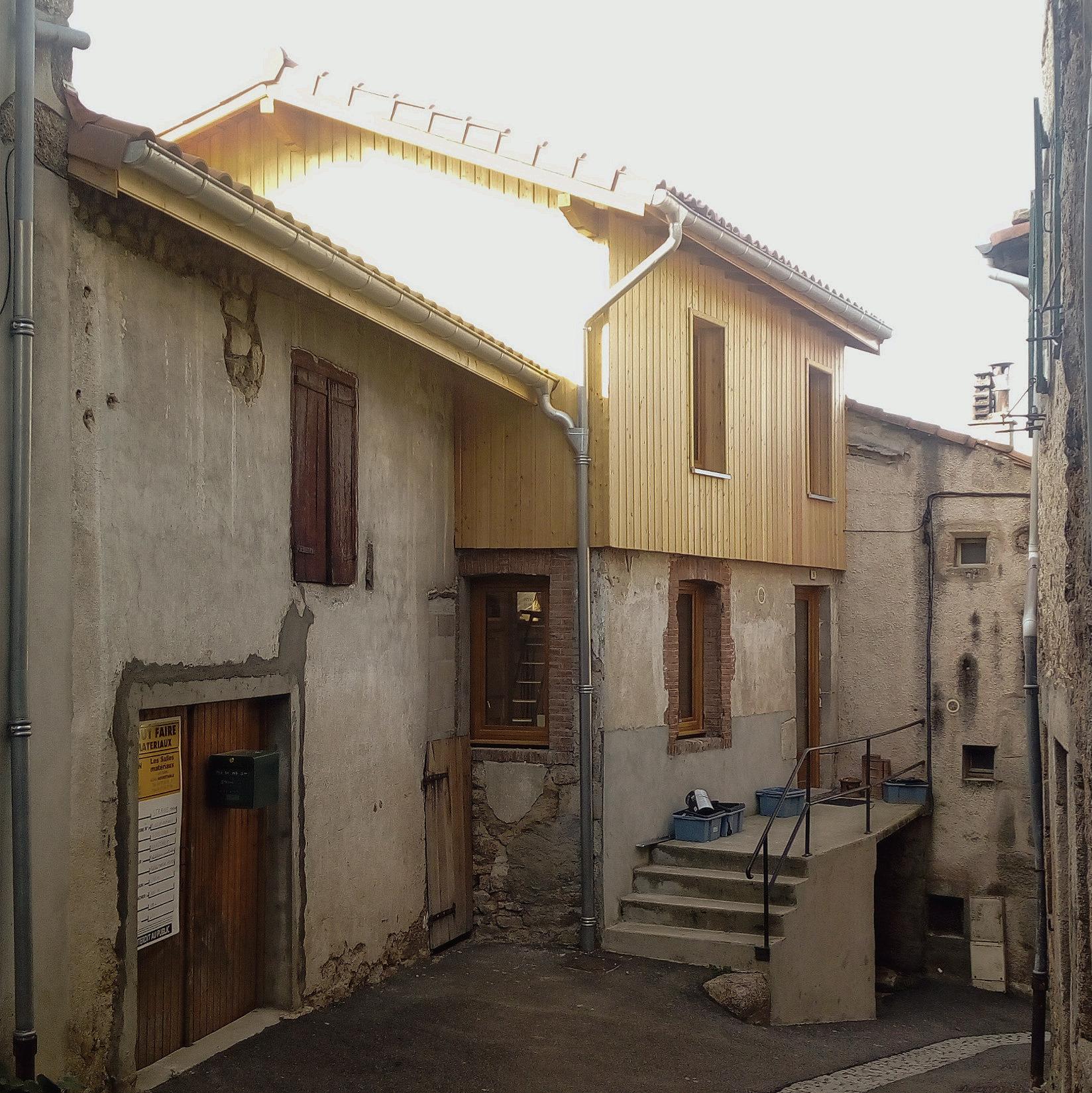 Surélévation (Vue rue)