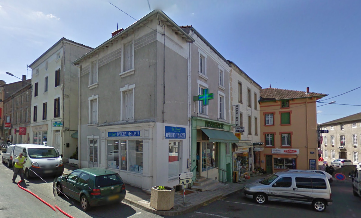 Pharmacie - Avant travaux