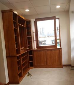 Pharmacie - Agencement int. chantier