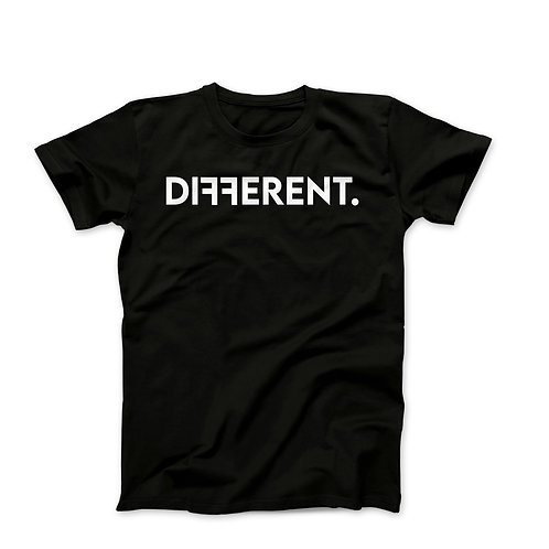 "UNISEX ""DIFFERENT"" T-SHIRT"