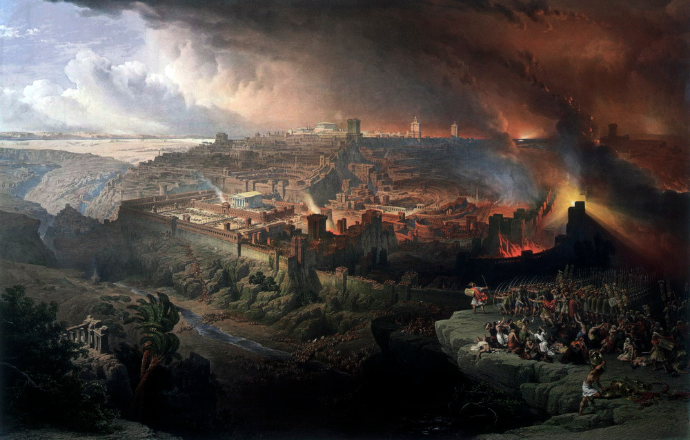 The Siege of Jerusalem, by David Roberts