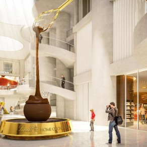 World's Largest Lindt Chocolate Shop and Museum to Open in Zurich September 13