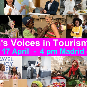 Women's Voices in Tourism Part 2 on April 17, 2021