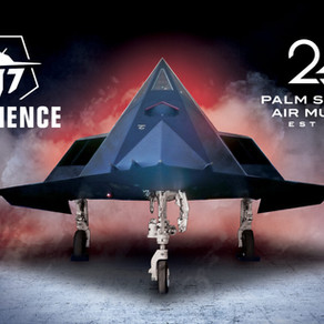 The F-117 Experience at the Palm Springs Air Museum & Guest Speaker Line Up