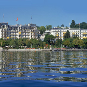 Lausanne, Switzerland's Iconic Beau-Rivage Palace Re-Opens Today
