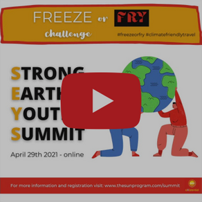 """Freeze or Fry"" Challenge Highlights Need to ACT NOW on Climate Crisis"